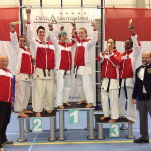 Nederlandse kampioenschappen Kata (NKA- IFK) 2016