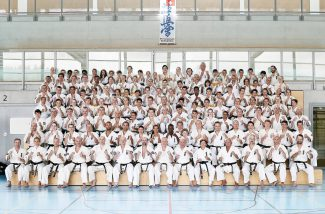 Gruppenfoto, IFK Sommerlager 2016 in Willisau