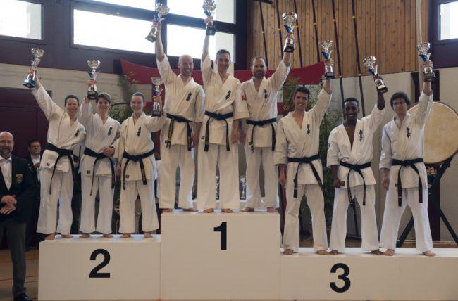 IFK-Karate Schweizermeisterschaft 2017 in Kerns Obwalden